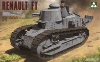 French Light Tank Renault FT-17 (3 in 1) - Image 1