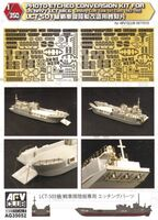 Photo-Etched Conversion Kit for U.S. Navy LCT Mk.6 Photo-Etched Conversion Kit for U.S. Navy LCT Mk.6