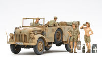 German Steyr Type 1500A/01 - and  Africa Corps Infantry  Rest