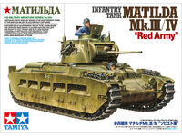 "Infantry Tank Matilda Mk.III/IV ""Red Army"" - Image 1"