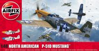 North American P51-D Mustang (Filletless Tails)