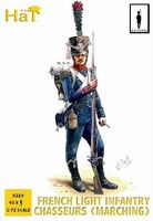 1808-1812 French Light Infantry Chasseurs Marching