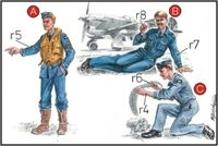 RAF Mechanics+Pilot WW II - Image 1