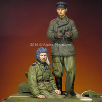 WW2 Russian Tank Crew Set (2 figs) - Image 1