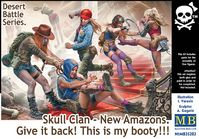 Skull Clan - New Amazons. Give it back! This is my booty!!! - Desert Battle Series.