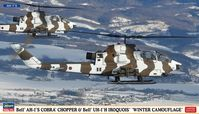 Bell AH-1S Cobra Chopper & UH-1J Iroquois Winter Camouflage