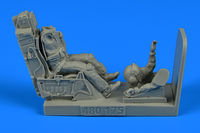 USAF Fighter Pilot with ejection seat for F-16 Figurines HAS/TAM/ACA/KIN - Image 1