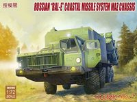 Russian Bal-E mobile coastal defense missile luncher with Kh-35 anti-ship cruise missiles MAZ chassis early type - Image 1