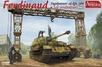 SD.Kfz.184 Ferdinand & 16t Strabokran Full Interior/Clear Roof Parts