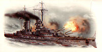 Markgraf WWI German battleship