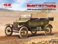 Model T 1917 Touring WWI Australian Army Staff Car - Image 1