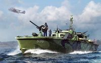 US Navy Elco 80 torpedo boat late - Image 1
