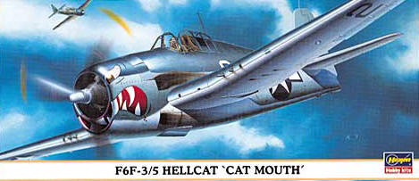 F6F-3/S Hellcat Cat Mouth - Image 1