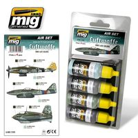 A.MIG 7209 Air Set - Luftwaffe WWII Late Colors - Acrylic color for brush and airbrush