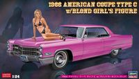 52232 1966 American Coupe Type C w/Blond Girls Figure - Image 1