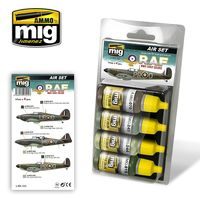 A.MIG 7215 RAF WWII EARLY COLORS SET