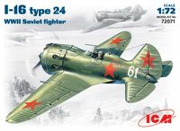 I-16 type24  WWII Soviet fighter