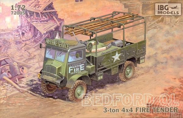 Bedford QLR 3 ton 4x4 Fire Tender - Image 1