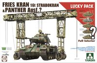 FRIES KRAN 16t Strabokran, 1943/44 Production combined with  Panther (with full interior)