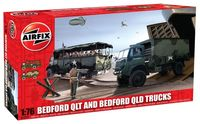 Bedford QLT and Bedford QLD Trucks