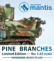 Pine Branches for vehicle camouflage