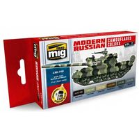 A.MIG 7161 Modern Russian Camo Colors Vol.2 Set
