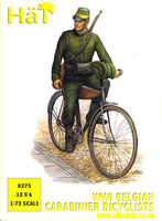 Belgian Carabinier Bicyclists (1914-1918)