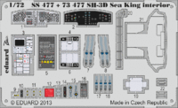 SH-3D Sea King interior S. A.  CYBER HOBBY - Image 1