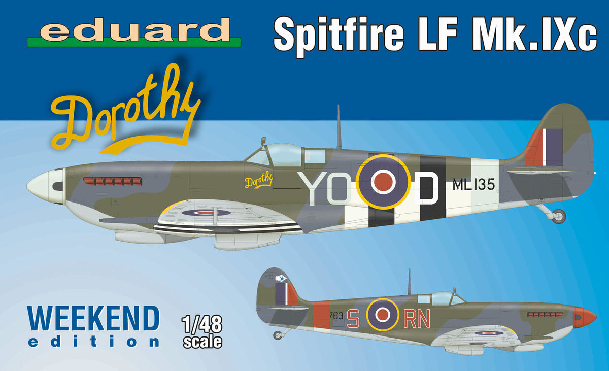 Spitfire Lf Mk Ixc Weekend Edition Eduard 84151
