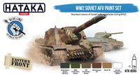WW2 Soviet AFV paint set