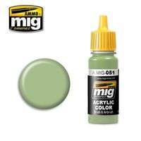 A.MIG 051 Light Green KHV-553M