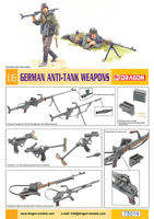 German Anti-Tank Weapons (figures NOT included)