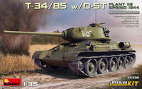 T-34/85 w/D-5T Plant 112. Spring 1944. Interior Kit - Image 1