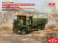Leyland Retriever General Service (early production) WWII British Truck