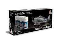 U.S.Navy Aircraft (1941-1945) Acrylic Set