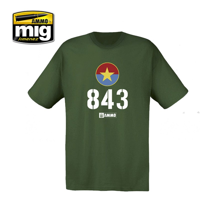 AMMO 843 VIETNAMESE T-54 T-SHIRT Size M - Image 1