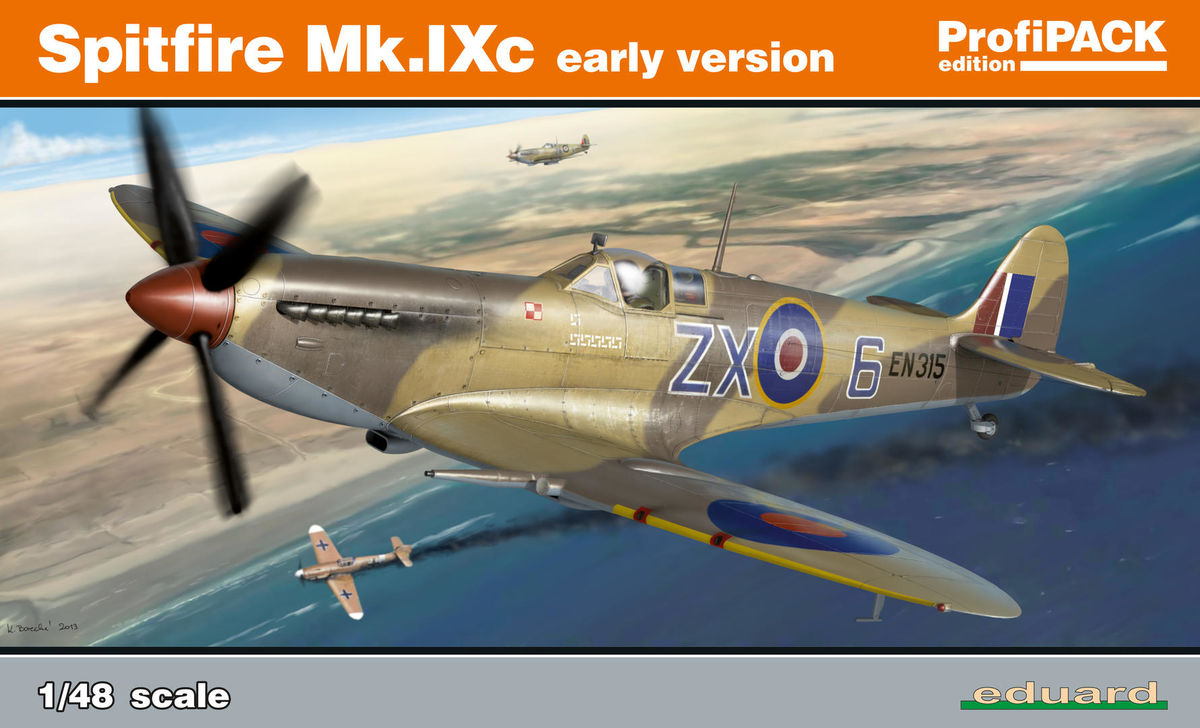 Spitfire Mk Ixc Early Version Profipack Eduard 8282
