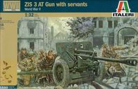 ZIS 3 AT Gun with servants - Image 1