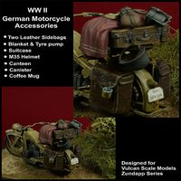 WWII German Motorcycle Accessories - Image 1