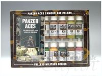 70179 Model Color - Camouflage Panzer Ace Set